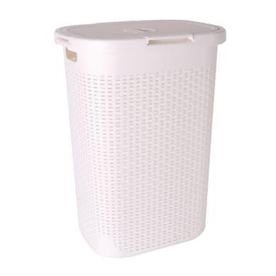 Portabiancheria Sensea Cottage bianco meno di 50 L