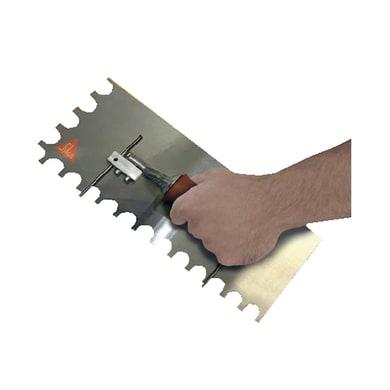 Frattone per intonaco SIKA dentata in acciaio inox