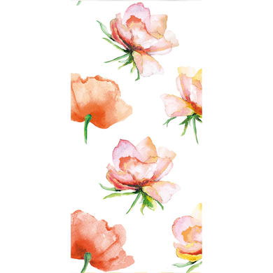 Tenda doccia Bloom in poliestere multicolor L 240 x H 200 cm