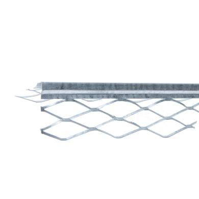 Profilo in acciaio 2800 x 35 x 35 mm