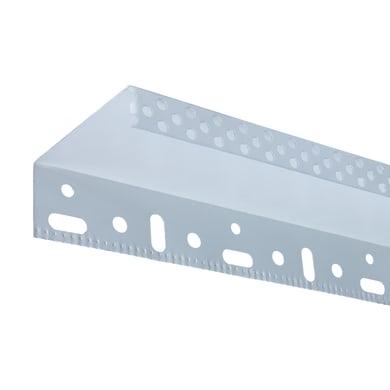Profilo in alluminio 2500 x 40 x 40 mm, 10 pezzi