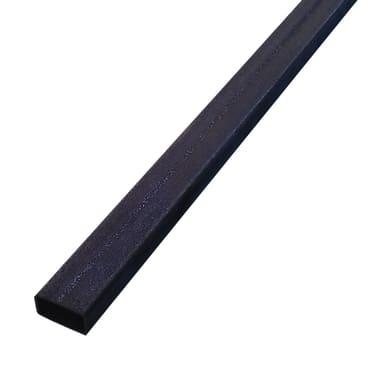 Tubo rettangolare in ferro L 3 m x H 4 cm