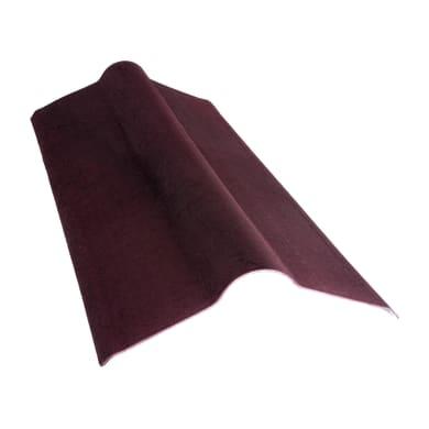 Colmo ONDULINE in bitume L 50 x H 100 cm rosso