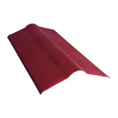 Onda piastra ONDULINE in bitume 0.5 x 0.1 m rosso