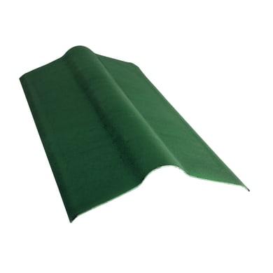 Colmo ONDULINE in bitume L 50 x H 100 cm Ø 48.5 cm verde