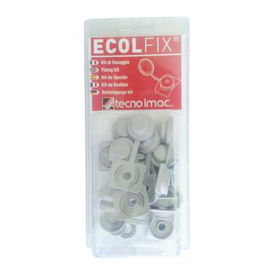 Cappuccio 10 pezzi Ecolfix in polimero 6 x 2.5 cm