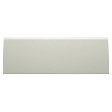 Battiscopa H 7 cm x L 2.4 m bianco