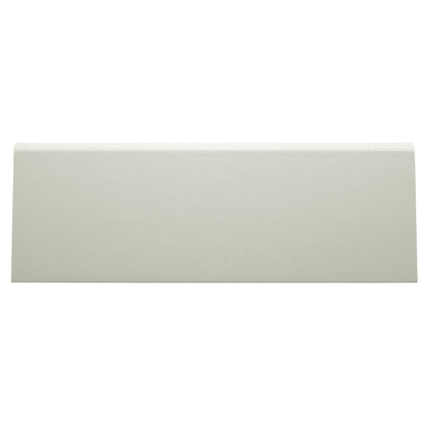 Battiscopa H 7 cm x L 2.4 m bianco