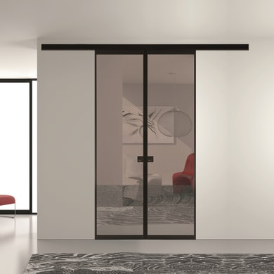 Ante scorrevoli Melbourne in vetro L 120 x H 270 cm