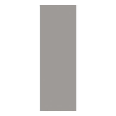 Pannello laterale per cabina armadio L 62 x H 280 cm argento