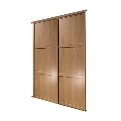 Ante scorrevoli Memphis in legno effetto legno L 120 x H 270 cm