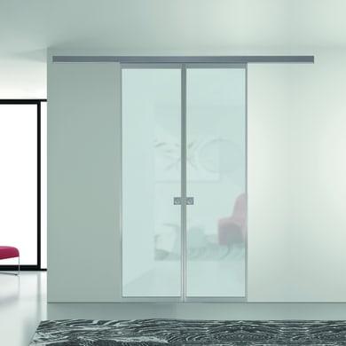 Ante scorrevoli Perth in vetro L 120 x H 270 cm