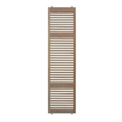 Parete divisoria in legno L 66 x H 270 cm naturale