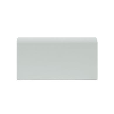 Battiscopa Passacavo Plus H 8 cm x L 2 m bianco