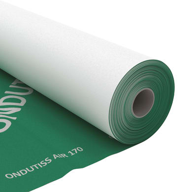 Membrana bituminosa ONDULINE Ondutiss air 170 170 g/m³ 1.5 x 50 m trasparente