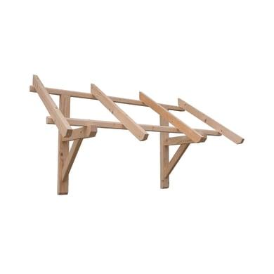 Tettoia Varsavia in legno L 140 x P 82 cm struttura Legno