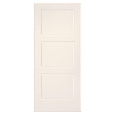 Pannello per porta blindata pellicolato avorio L 90 x H 210 cm, Sp 6 mm