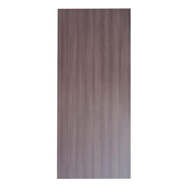 Pannello per porta blindata laccato noce L 92 x H 213 cm, Sp 6 mm