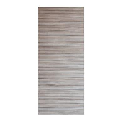Pannello per porta blindata Cover impiallacciato legno grigio L 90 x H 210 cm, Sp 4 mm