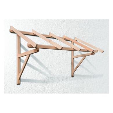 Tettoia Helios in legno L 205 x P 100 cm struttura Legno
