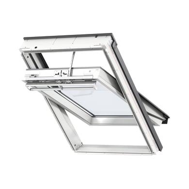 Finestra da tetto (faccia inclinata) VELUX GGU SK06 007021 elettrico L 114 x H 140 cm bianco