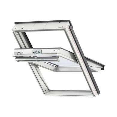 Finestra da tetto (faccia inclinata) VELUX GGU CK04 0070 manuale L 55 x H 98 cm bianco