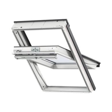 Finestra da tetto (faccia inclinata) VELUX GGU SK06 0070 manuale L 114 x H 118 cm bianco