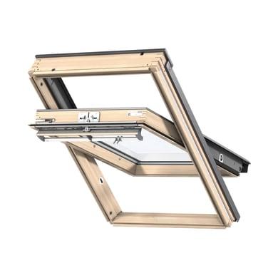Finestra da tetto (faccia inclinata) VELUX GGL CK04 3070 manuale L 55 x H 98 cm pino