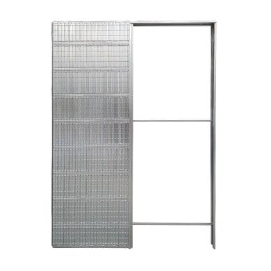 Controtelaio porta scorrevole per intonaco L 120 x H 210 cm