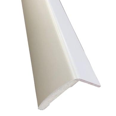 Kit coprifilo Pearl 2,5 pz in legno  bianco L 2250 x P 9 x H 70 mm