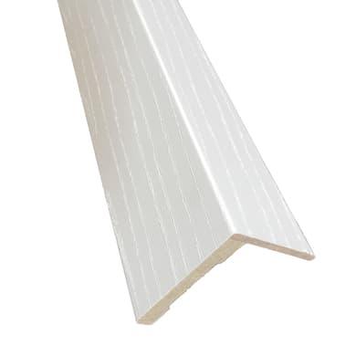 Kit coprifilo Renoir 2,5 pz in legno  bianco venato L 2250 x P 9 x H 70 mm
