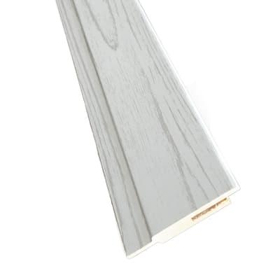 Kit coprifilo Notting Hill 2,5 pz in legno  bianco jurga pinie L 2250 x P 9 x H 65 mm