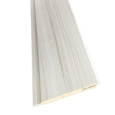 Kit coprifilo Pigalle 2,5 pz in legno  palissandro bianco L 2250 x P 9 x H 115 mm