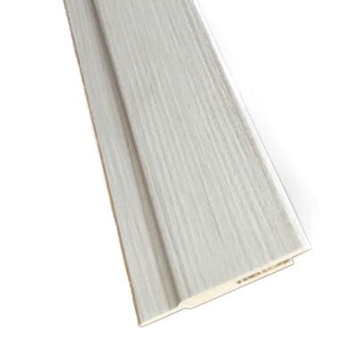 Kit coprifilo Pigalle 2,5 pz in legno  palissandro bianco L 2250 x P 9 x H 65 mm
