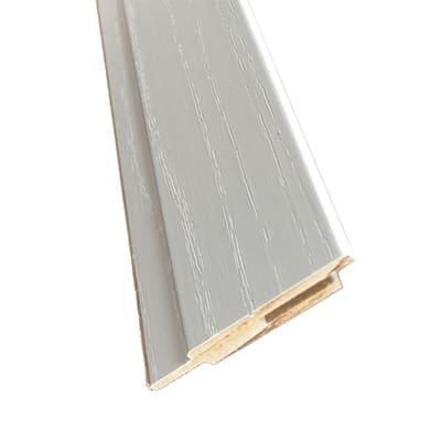 Kit coprifilo Renoir 2,5 pz in legno  bianco venato L 2250 x P 9 x H 65 mm