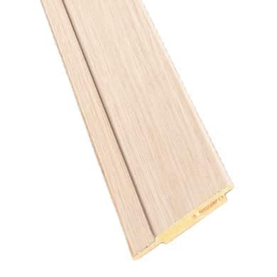 Kit coprifilo New Age 2,5 pz in legno  rovere chiaro L 2250 x P 9 x H 65 mm