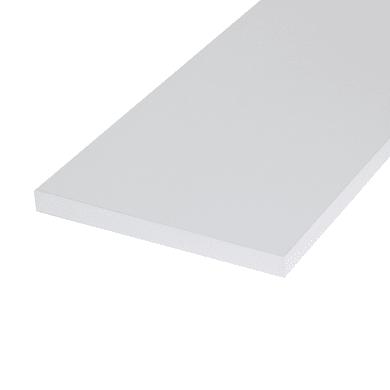 Ripiano melaminico ARTENS 100 x 20 cm Sp 18 mm , bianco