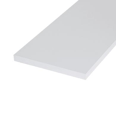 Ripiano melaminico ARTENS 120 x 30 cm Sp 18 mm , bianco