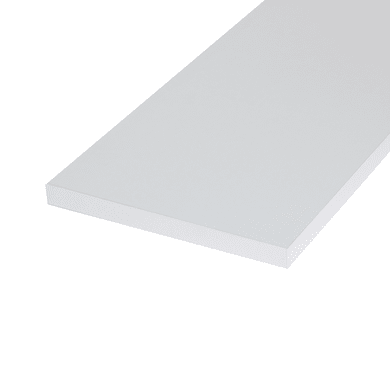 Ripiano melaminico ARTENS 60 x 30 cm Sp 18 mm , bianco