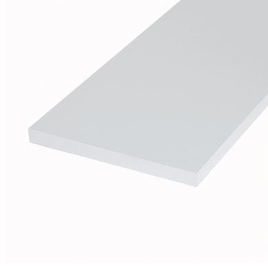 Ripiano melaminico ARTENS 60 x 40 cm Sp 18 mm , bianco