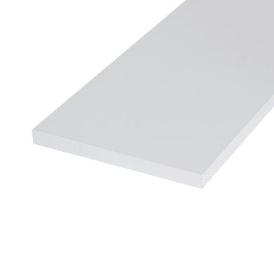 Ripiano melaminico ARTENS 100 x 60 cm Sp 18 mm , bianco