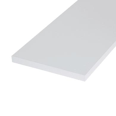 Ripiano melaminico ARTENS 120 x 80 cm Sp 18 mm , bianco