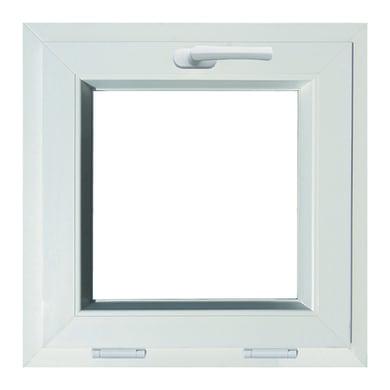 Finestra in pvc bianco L 50 x H 50 cm