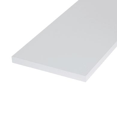 Ripiano melaminico ARTENS 120 x 20 cm Sp 18 mm , bianco