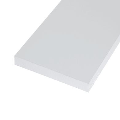 Ripiano melaminico ARTENS 100 x 30 cm Sp 25 mm , bianco