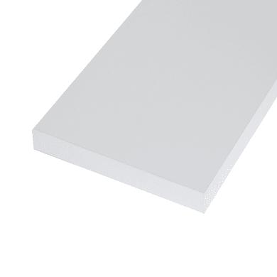 Ripiano melaminico ARTENS 138 x 80 cm Sp 25 mm , bianco