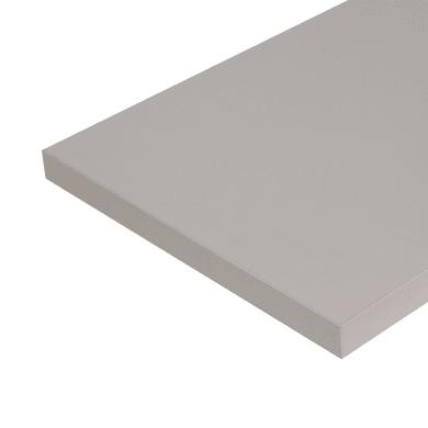Ripiano melaminico ARTENS 100 x 30 cm Sp 25 mm , beige