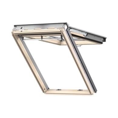 Finestra da tetto (faccia inclinata) VELUX GPL MK04 3070 manuale L 78 x H 98 cm pino