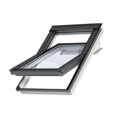 Finestra da tetto (faccia inclinata) VELUX GGL CK02 2068 manuale L 55 x H 78 cm bianco