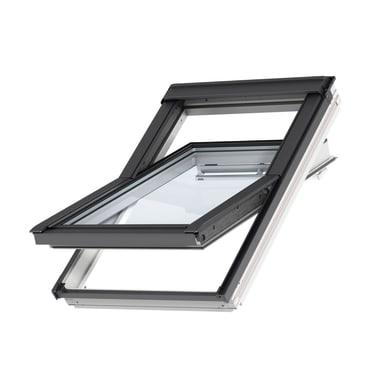Finestra da tetto (faccia inclinata) VELUX GGL CK04 2068 manuale L 55 x H 98 cm bianco